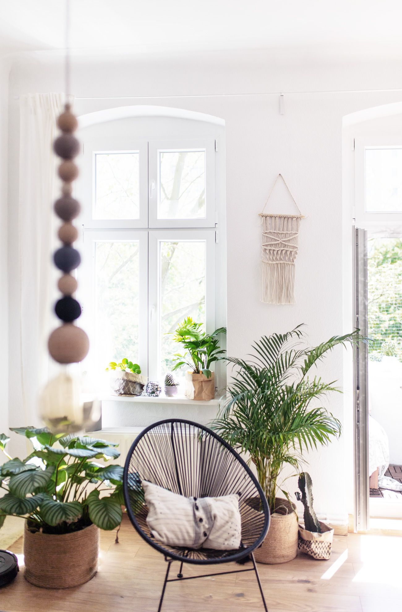 Interior Update: Macrame walldecor | Wohnzimmer einrichten ...