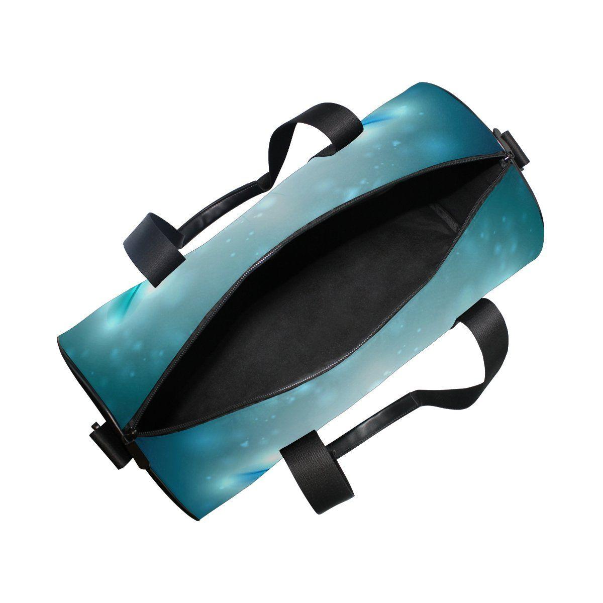 d4431a3d641a JSTEL Dragonfly Sports Gym Bag for Women and Men Travel Duffel Bag ...