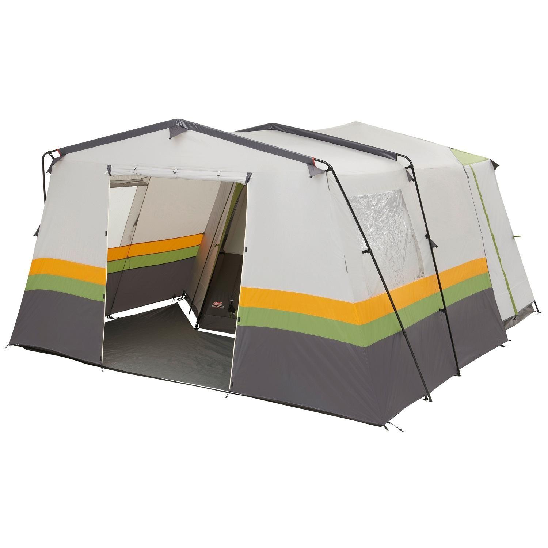 40bd591a41c Coleman 8 Man Front Extension Cortes Octagon Tent