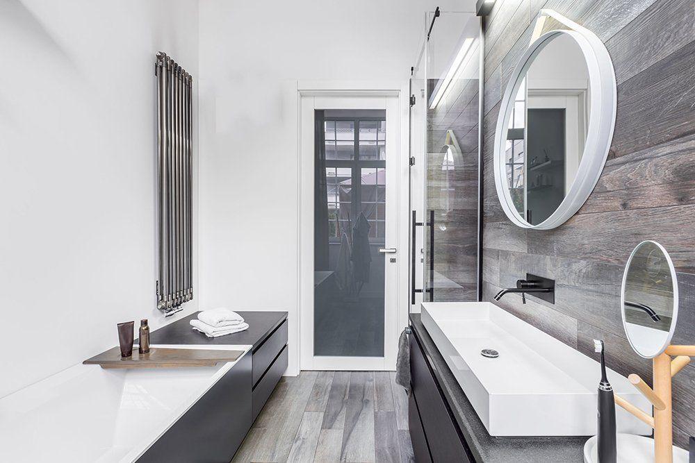 łazienka W Drewnie Zobacz Inspiracje Urządzanie