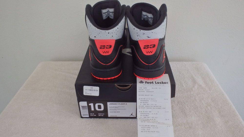 new concept 983a6 5d9d6 NIKE AIR JORDAN 1 FLIGHT 2 SZ 10 BASKETBALL SHOES  555798-024  NEW WITH  RECEIPT  NIKE  BasketballShoes