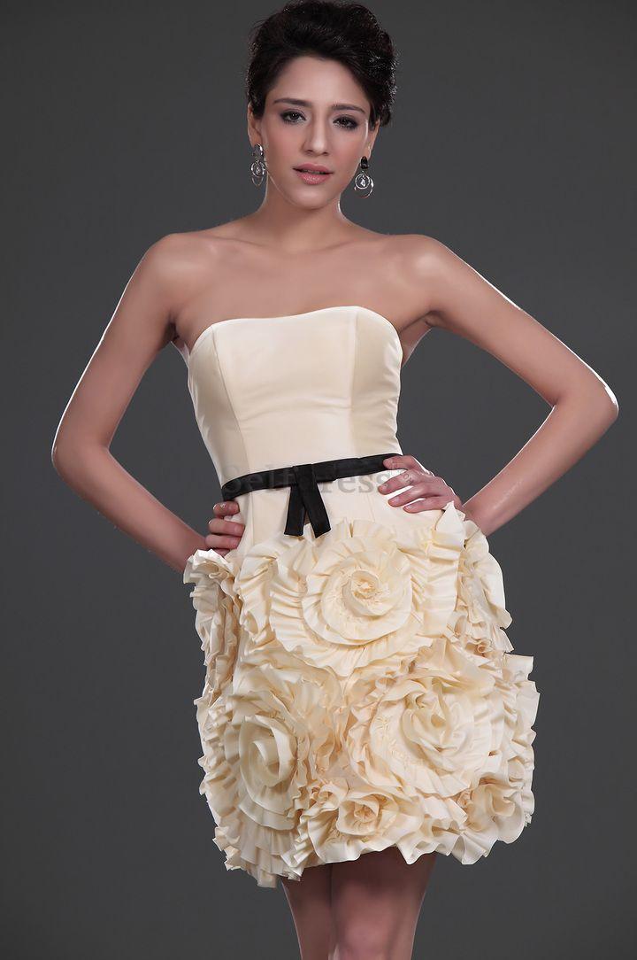 cutenfanci.com champagne cocktail dresses (02) #cocktaildresses ...