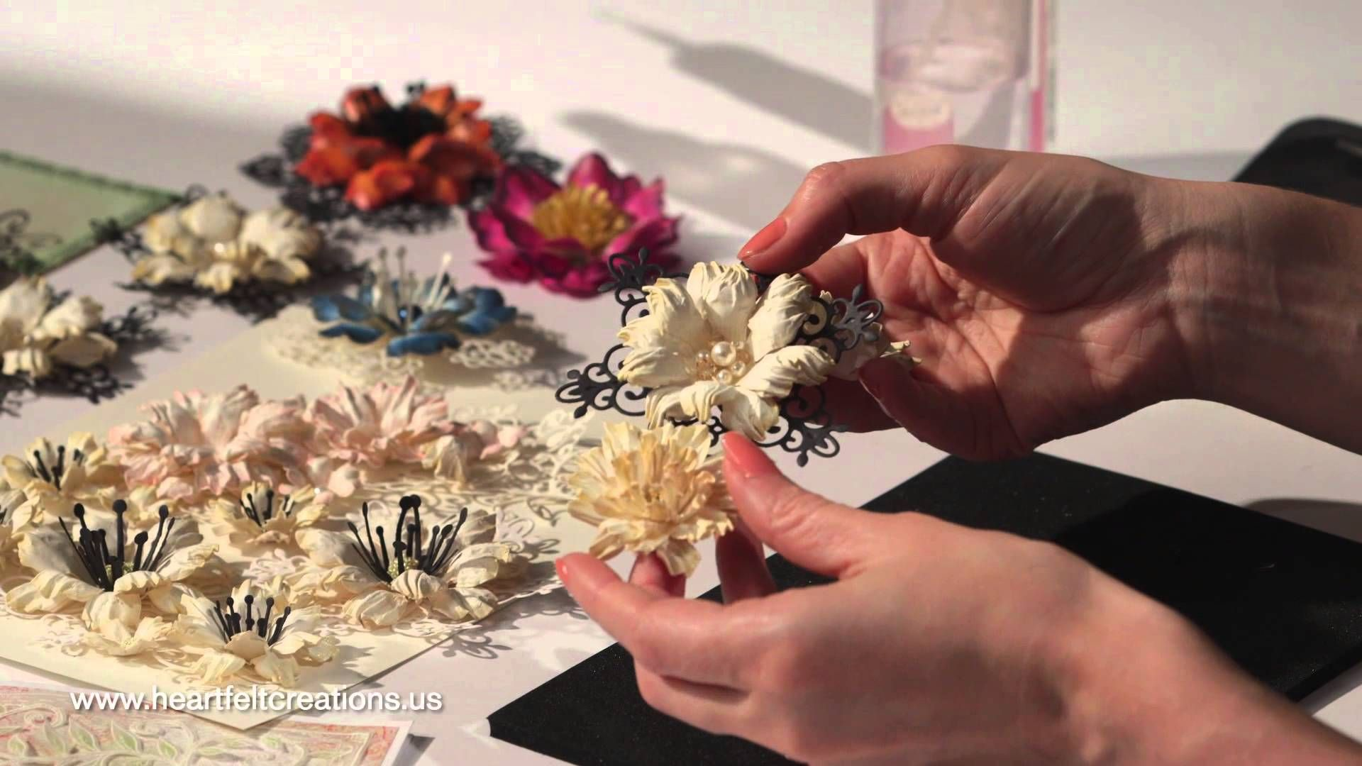 How Do I Create Elegant Papercrafted Flowers 5 Step By Step