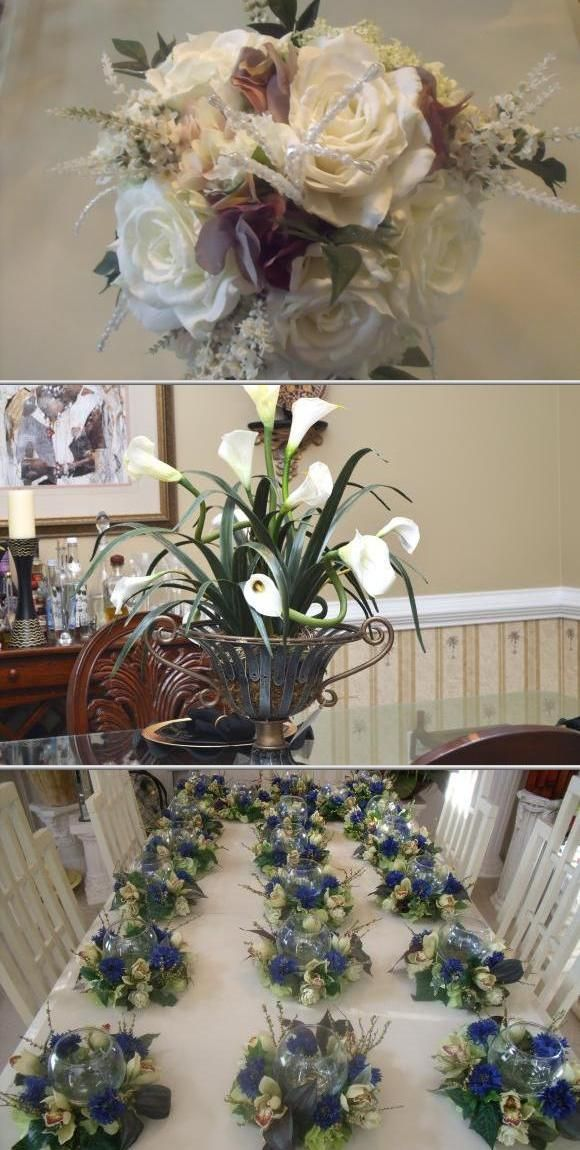Sharon Momon does professional florist jobs. She is one of