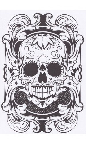 TATTOO COLORING BOOK 2 EXCITING PICTURES FROM THE WORLD OF BODY ART