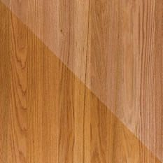 Red Oak Hardwood Floors,Left Is Oil Based Polyurethane And Right Is Water  Based