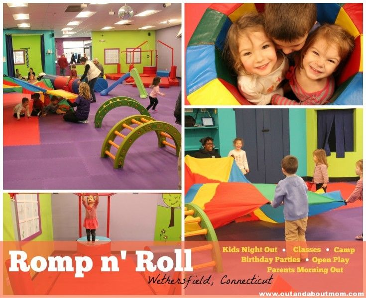 Open Gym At The New Romp N Roll Open Gym Kids Night Out Romp