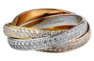 cartier russian ring