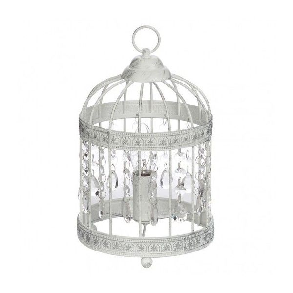 1 light distressed effect birdcage table lamp white 19 liked 1 light distressed effect birdcage table lamp white 19 liked on polyvore featuring aloadofball Image collections