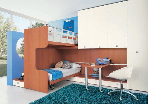 modern children bedroom interior