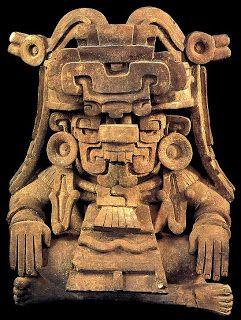 MÁSCARA VIDA-MUERTE  cultura de tlatilco  (mexico)  La concepción de dualidad partía de la observación que el hombre tenía de los cambios ...
