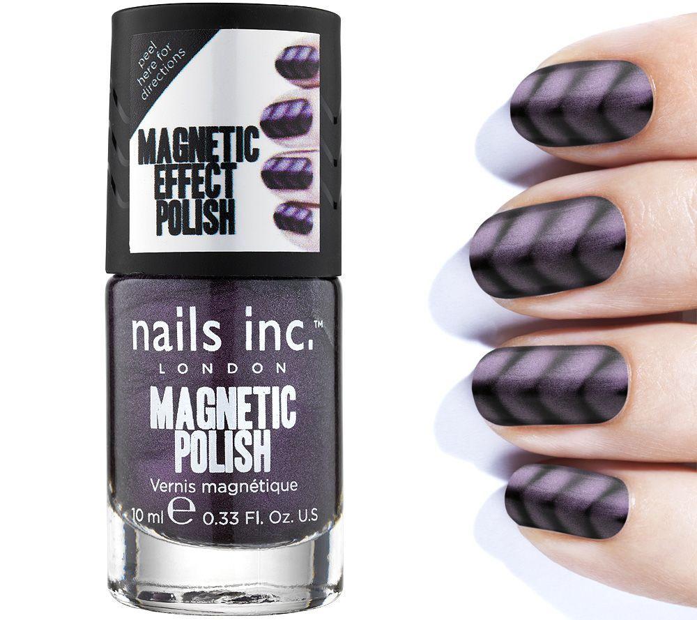 NAILS INC. Magnet-Nagellack für einzigartige Designs mit Magnet ...