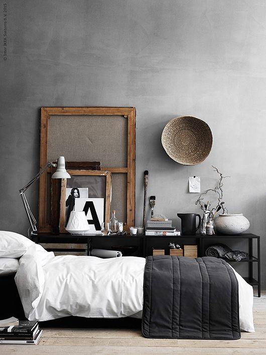 BEDROOM   Budgettips: Lång TV Bänk Eller Förvaringshylla Idee Deco, Chambre  Vintage,