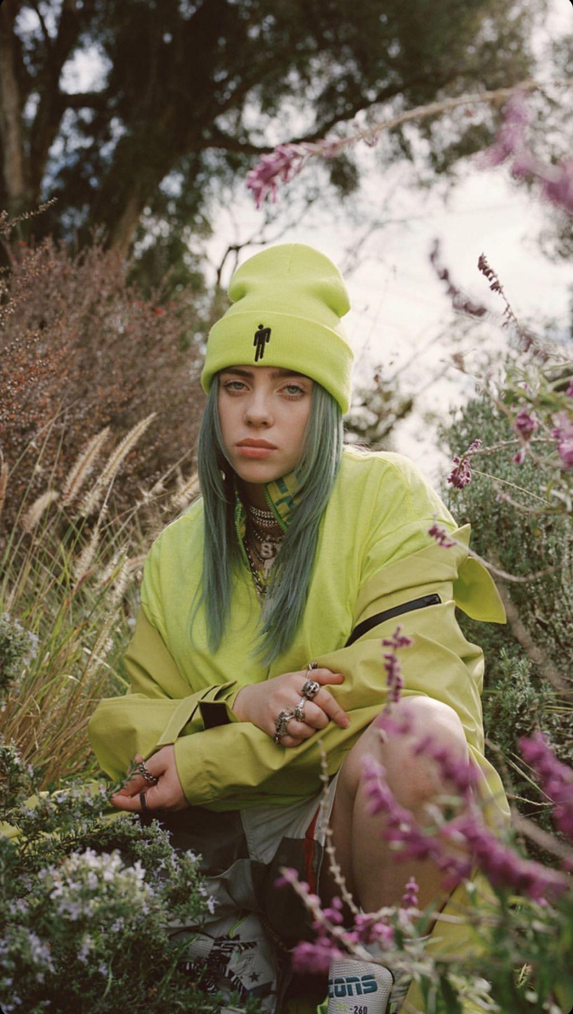 #billieeilish #aesthetic billie eilish #green