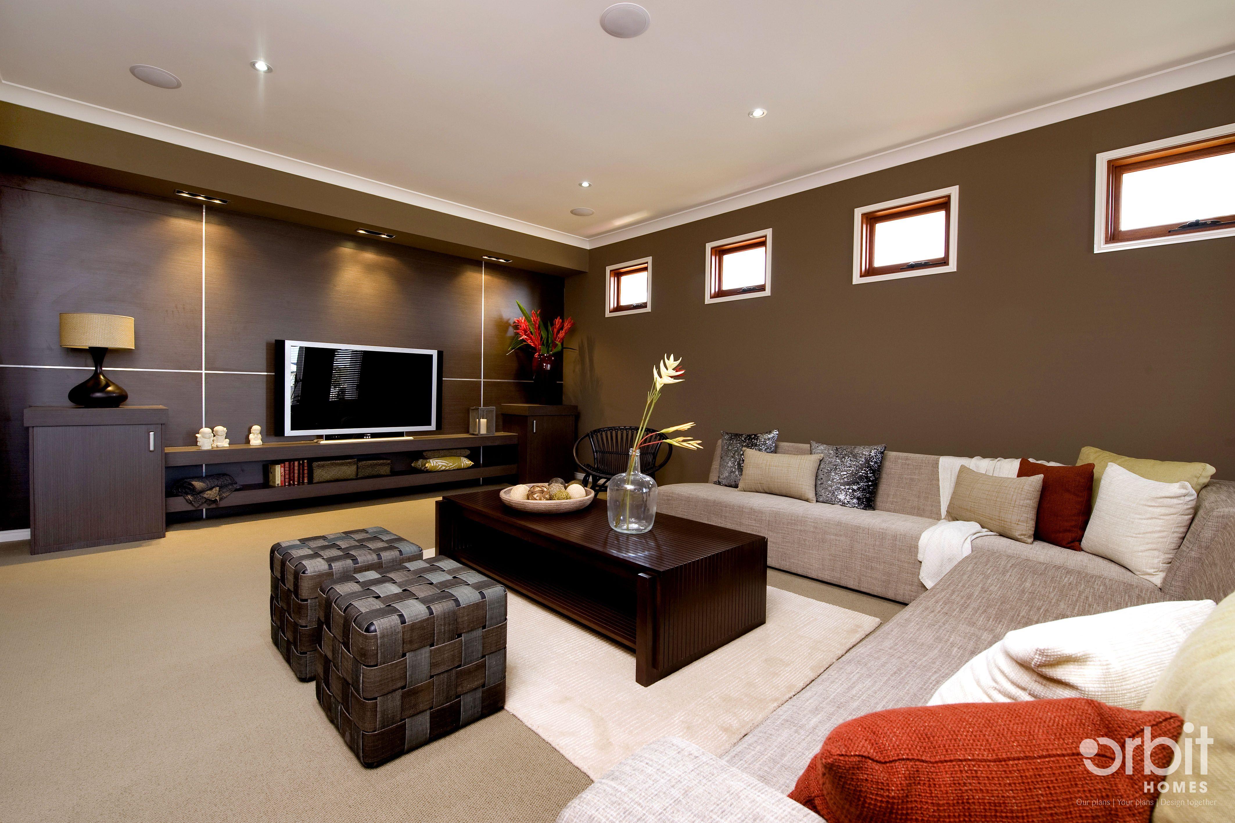 Orbit Homes Oasis 33 Lounge Room. EXTRA COMFORT ZONE