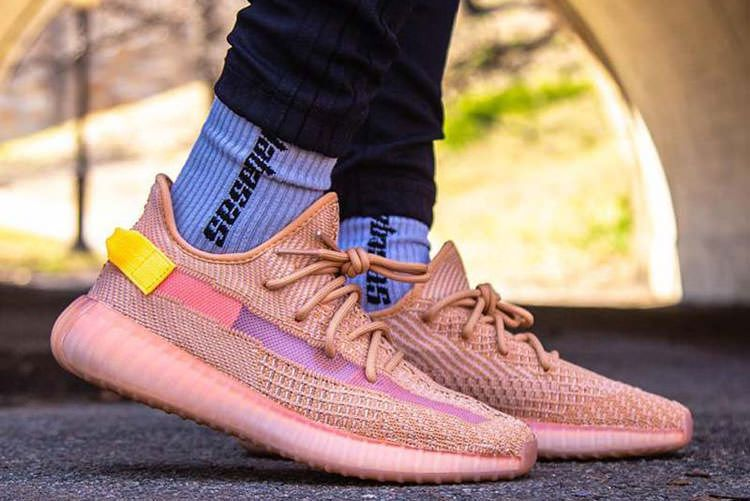 Kanye West X Adidas Yeezy Boost 350 V2 Clay Men And Women Sneaker Sneakers Kanye West Latest Fashion Shoes Nike Air Huarache Ultra