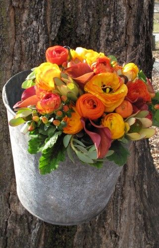maple syrup bucket bouquet - Google Search   Container ...