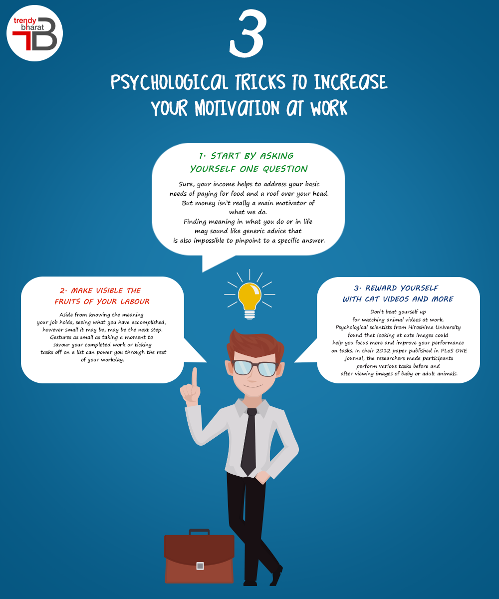 3 psychological tricks to increase your work at home