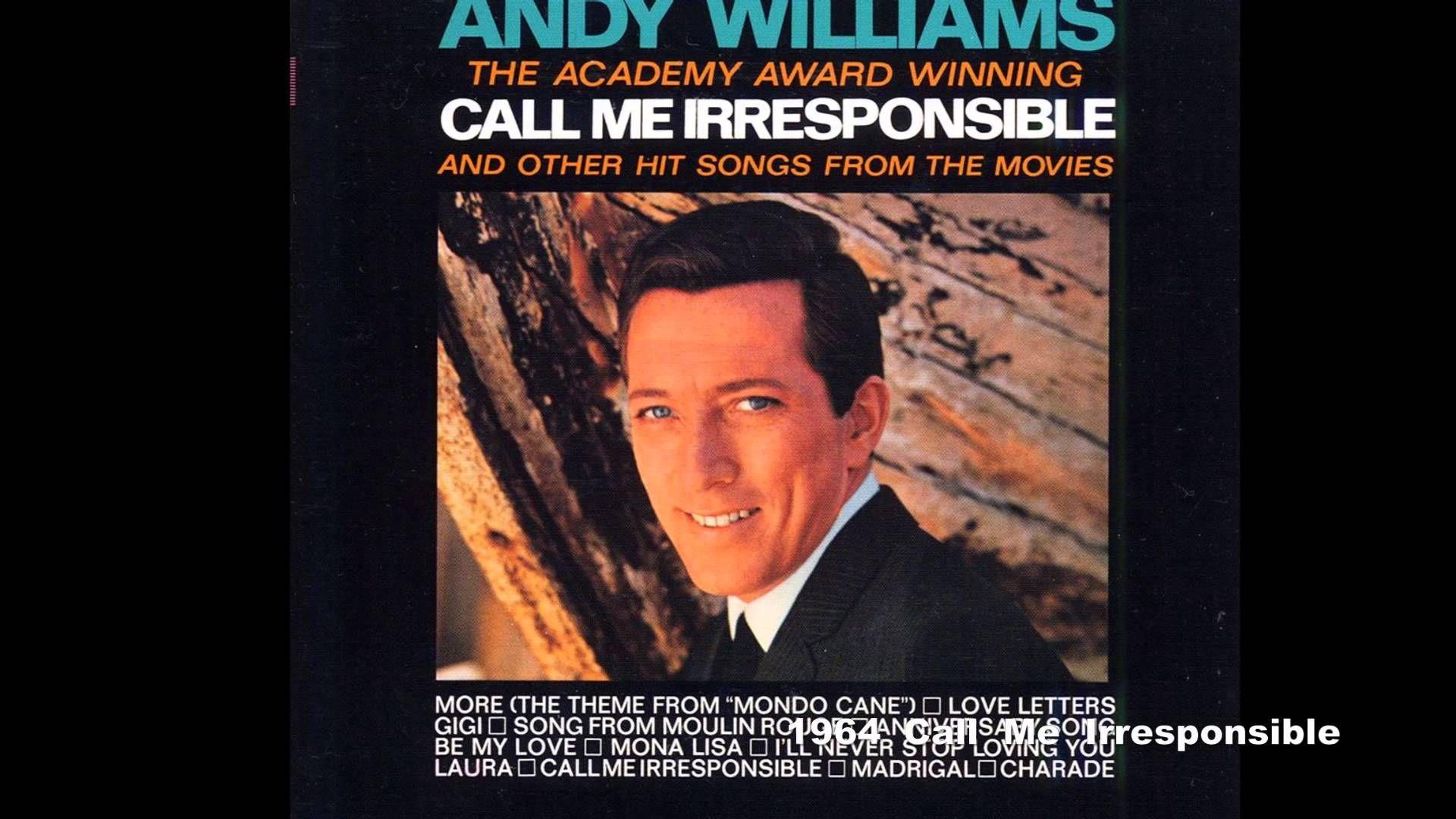 Andy Williams Original Al Collection Vol 1 Let It Be Me 1960