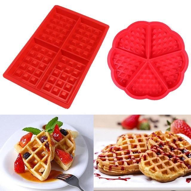 Waffmaker Innovative Silicone Waffle Maker Baking Set Baking