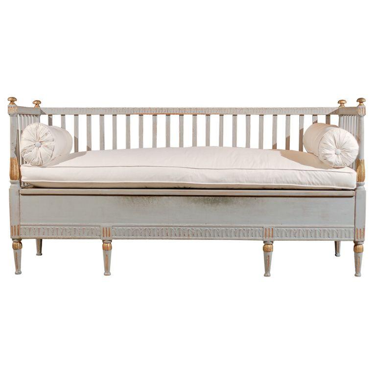Swedish Gustavian Bench Gustavian Furniture Furniture Banquette Seating