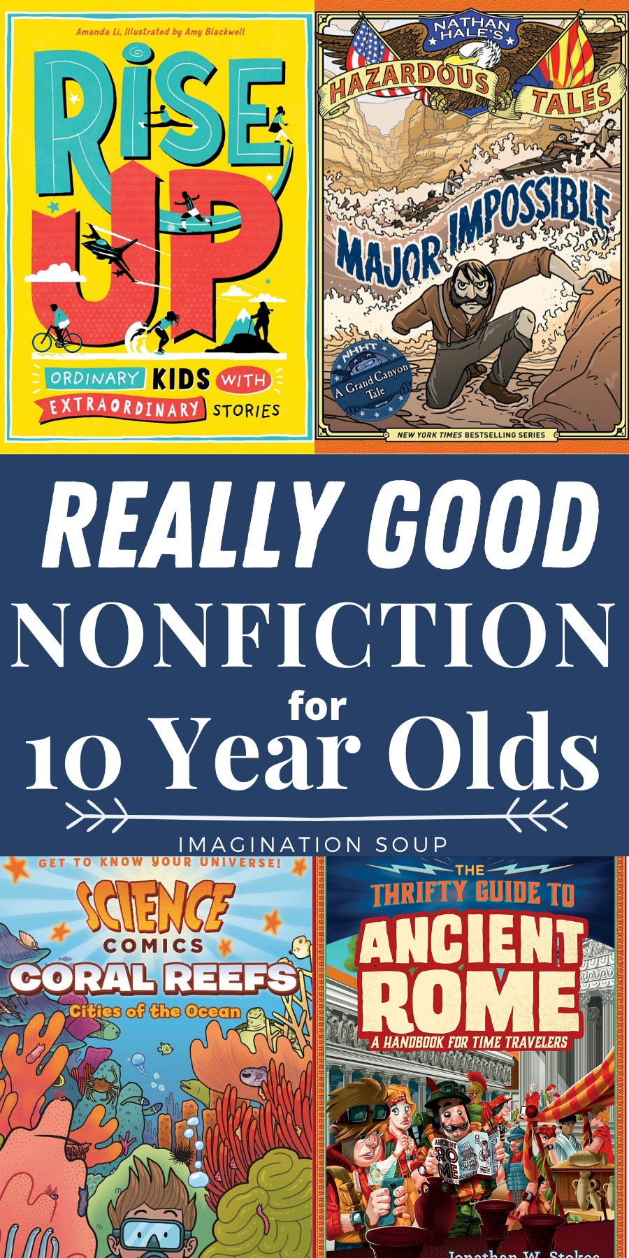 Nonfiction Books for 12 Year Olds 12th Grade   Imagination Soup ...