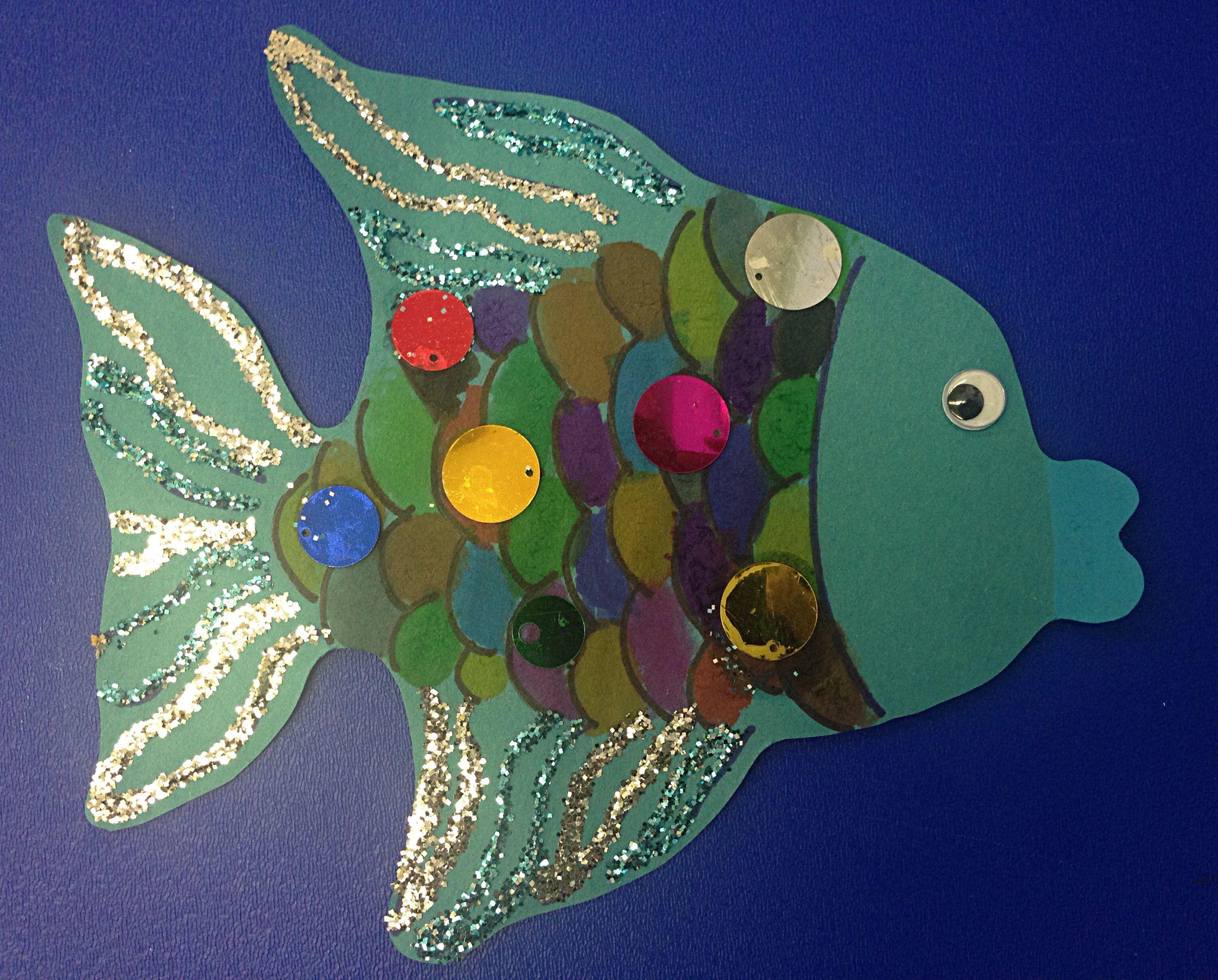 Rainbow Fish Craft For Preschoolers