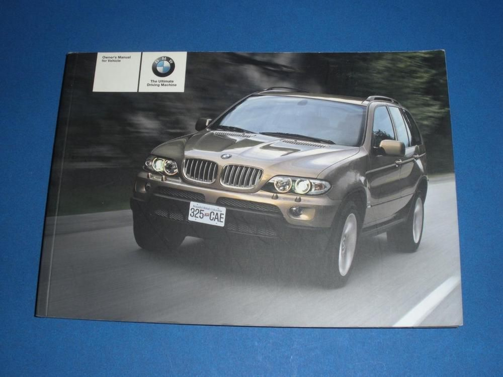 2004 bmw x5 3 0i 4 4i 4 8is owners manual book guide owners rh br pinterest com 2019 BMW X5 2015 BMW X5