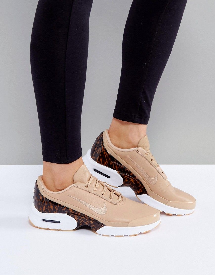 Buy it now. Nike Air Max Jewell Lx Trainers In Tan Leather
