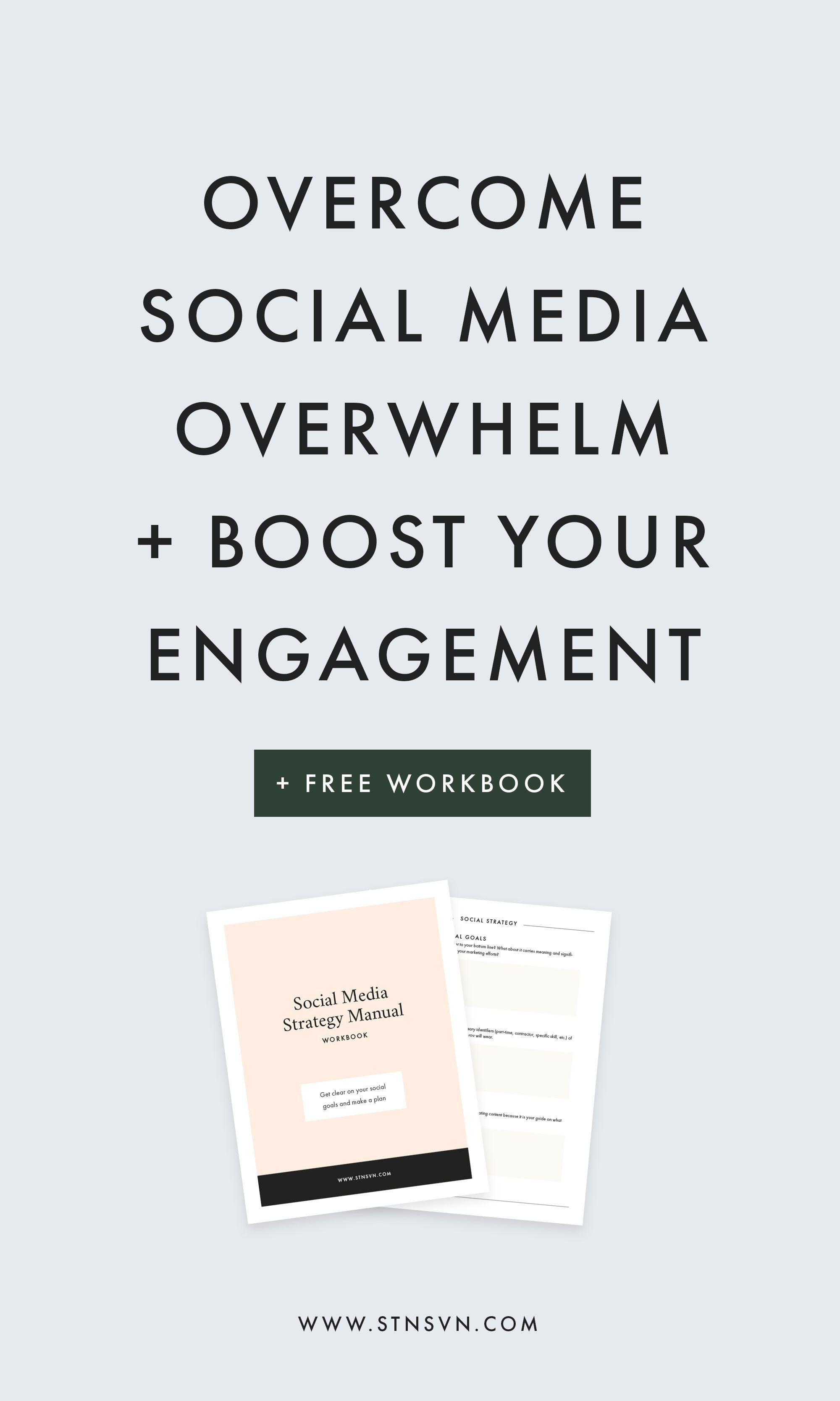 Overcome Social Media Overwhelm  Boost Your Engagement  Digital