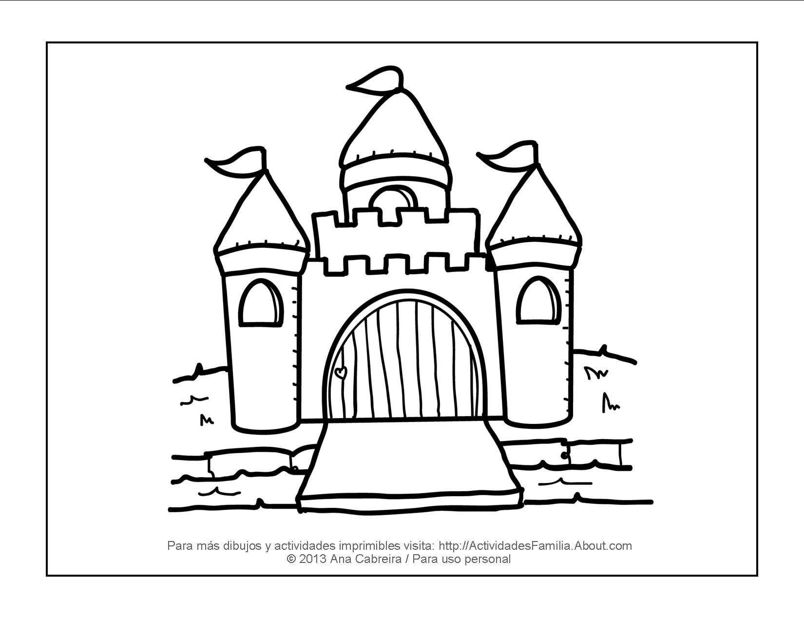 10 dibujos de princesas para imprimir y colorear | Colorear ...
