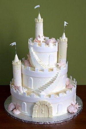 Princess Cake - Castle with tiers