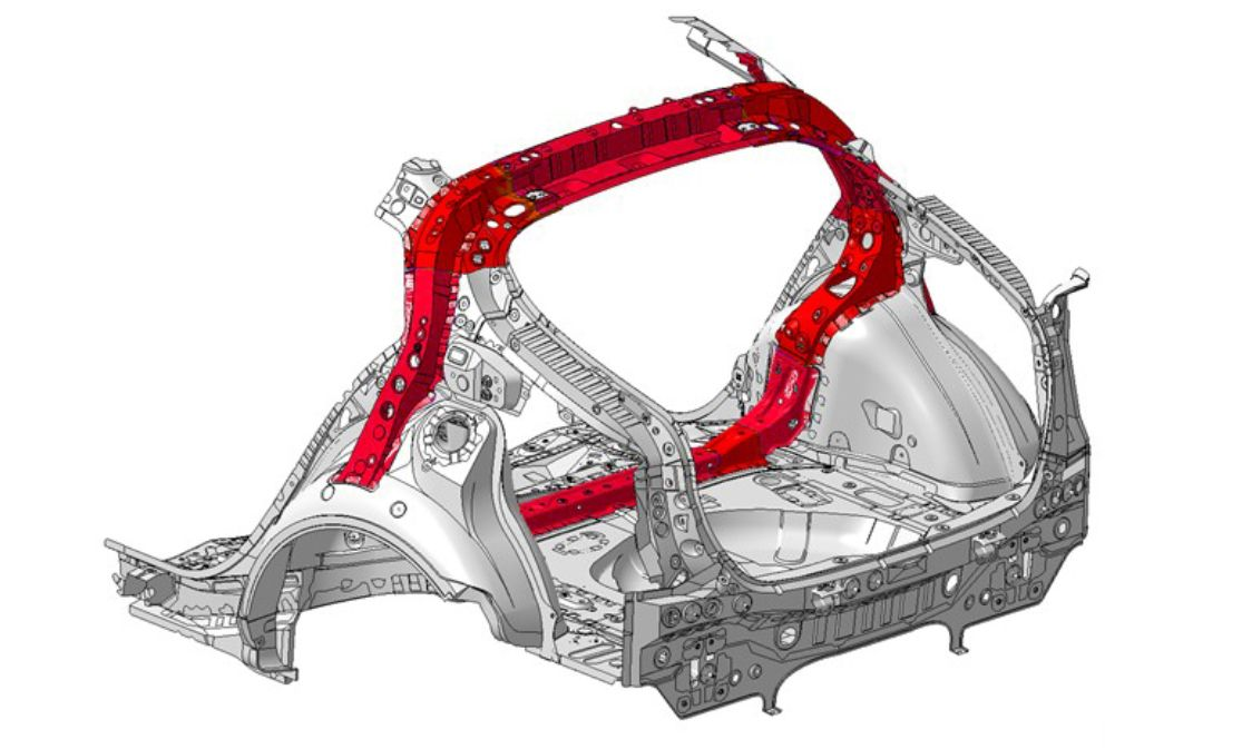 2016 Toyota Prius Body Structure-ring