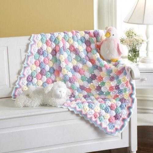 Tiny Bubbles Blanket Crocheting Pinterest Baby Blanket Crochet