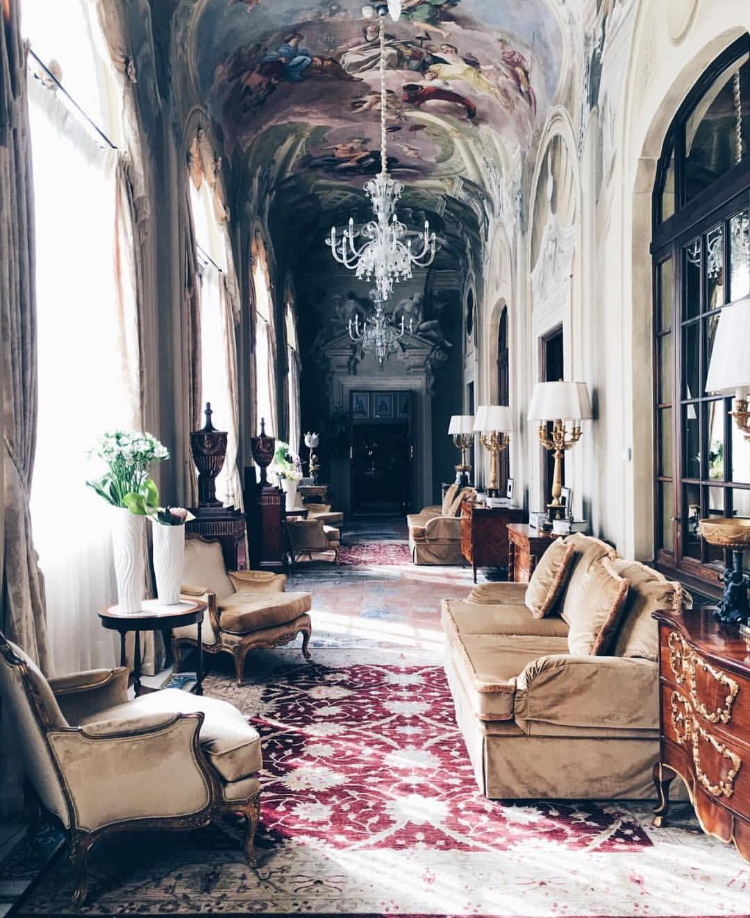 The Stunning Corridors Of The Florence Four Seasons Courtesy Of