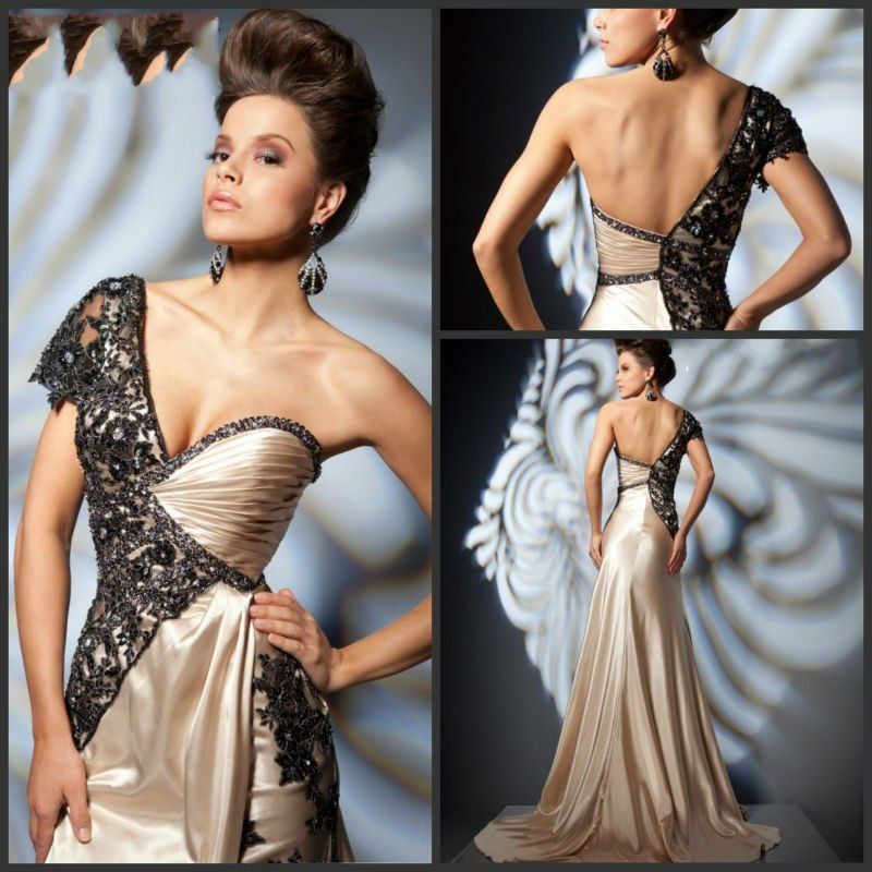 Couture evening dress