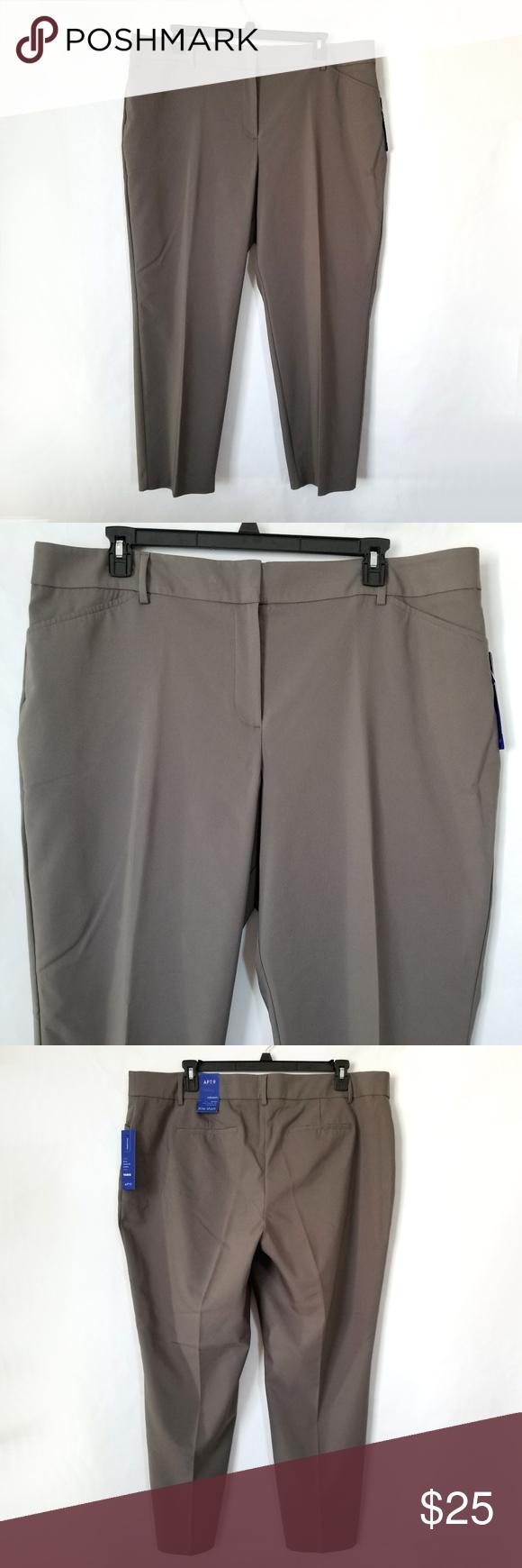 021d091c48f Apt. 9 Torie Modern Fit Straight-Leg Dress Pants New with tags. Plus