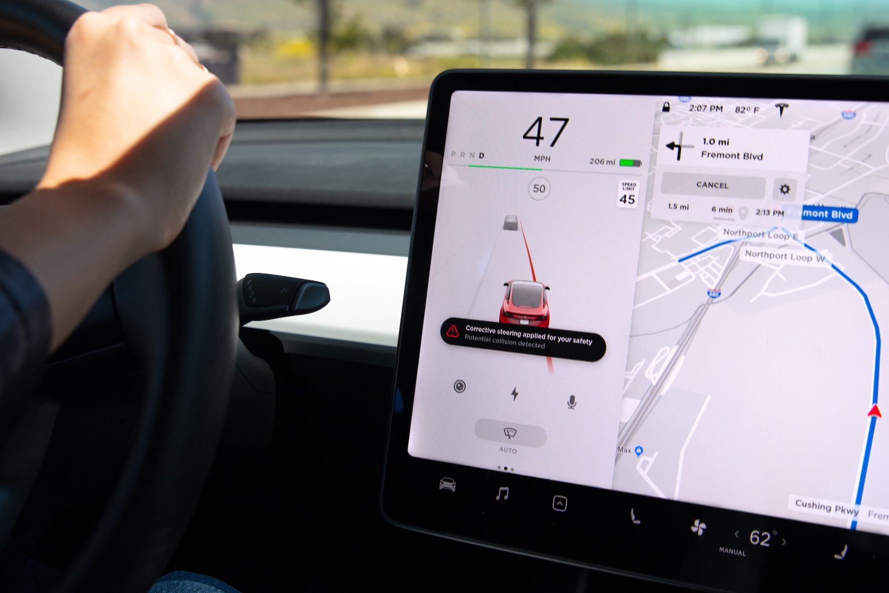 Tesla Deploys Two New Lane Departure Safety Features Fsd Price To Increase Soon Tesla Tesla Car Software Update