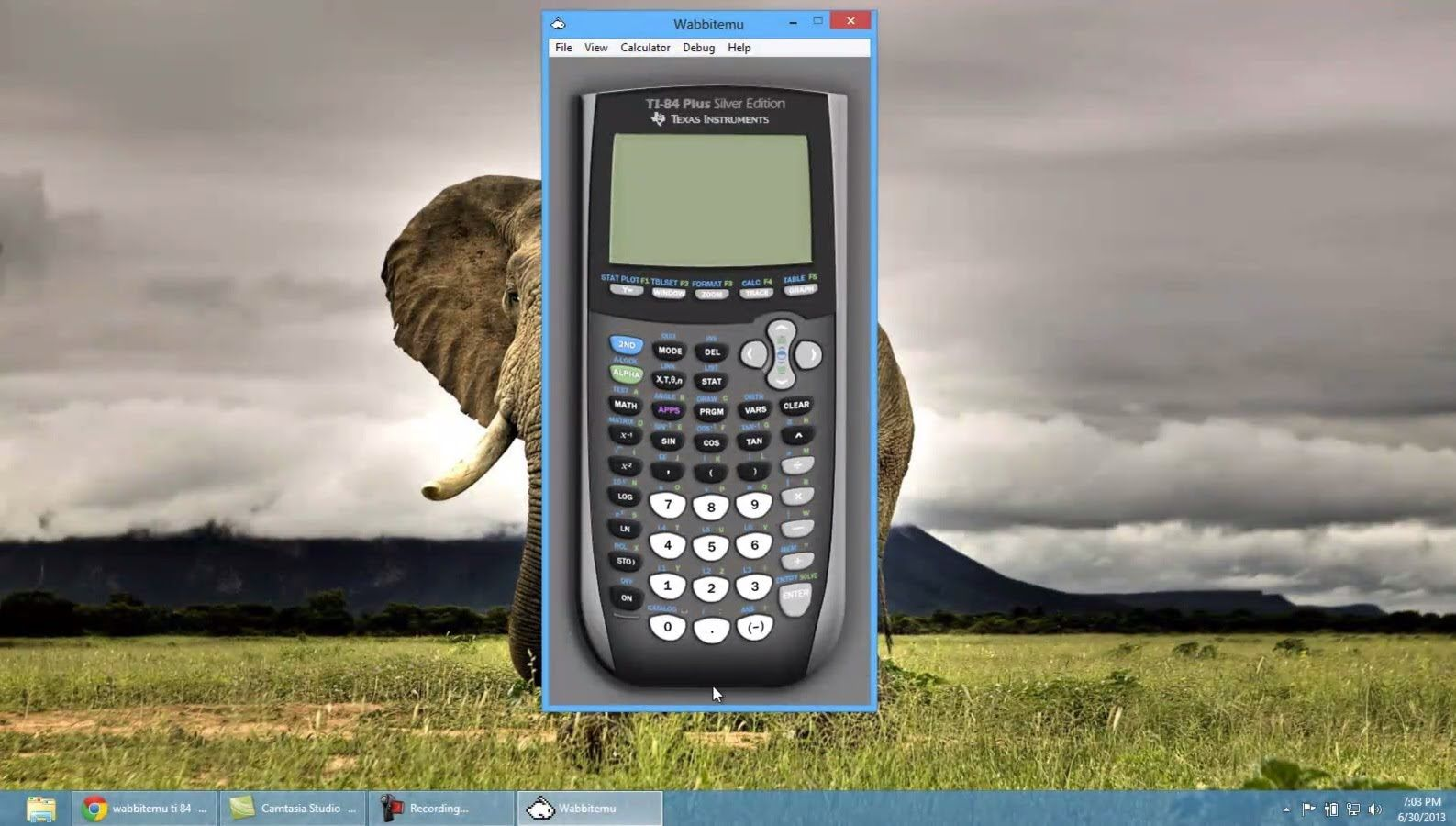 Get a ti84 calculator on your pcmac for free hd