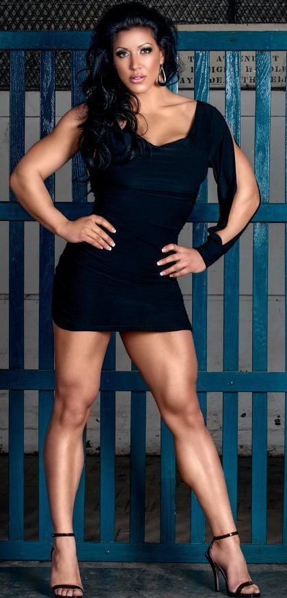 Big milf muscular legs