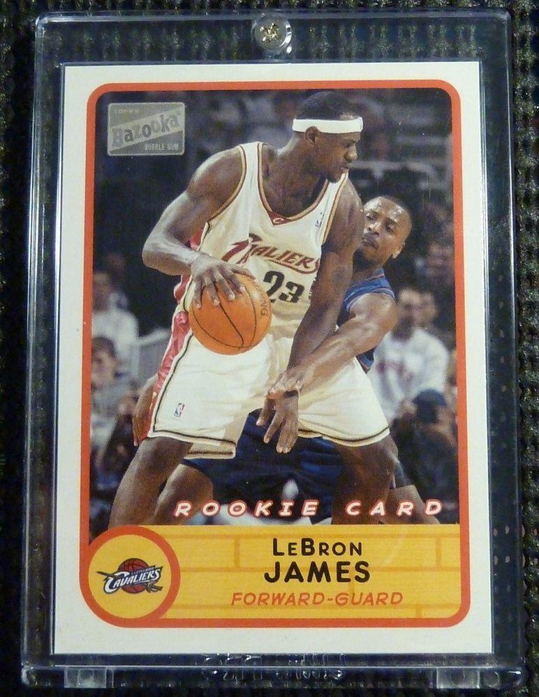 200304 Topps Bazooka Joe LeBron James Rookie Card RC 223