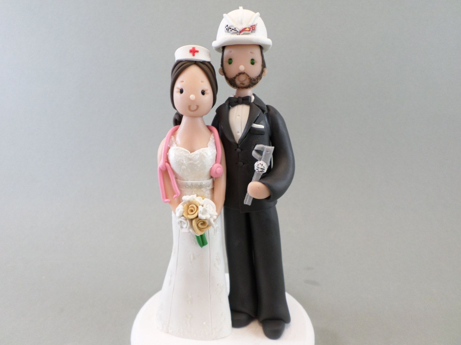 nurse wedding cake topper personalized amp engineer wedding cake topper by 17950