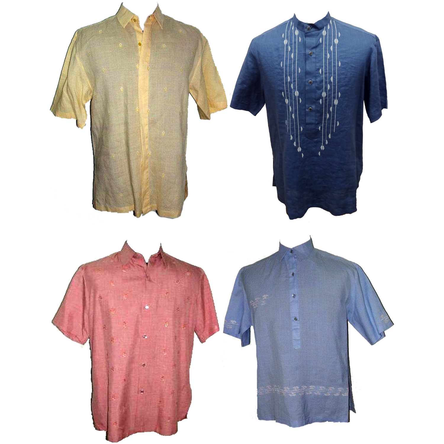 Assorted Polo Barongwant To Buy It Call Or Text Landline 8140159 Lgs Slim Fit Ladies Shirt Yellow Short Sleeve Kuning L