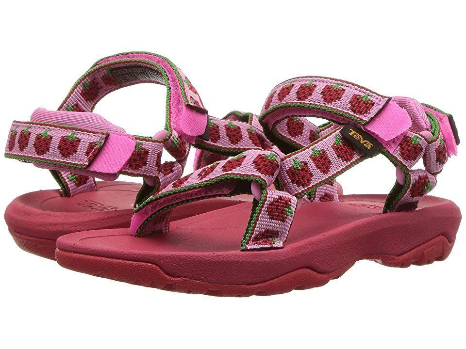 85b34d211c7e Teva Kids Hurricane XLT 2 (Toddler) (Strawberry Pink) Girls Shoes. The