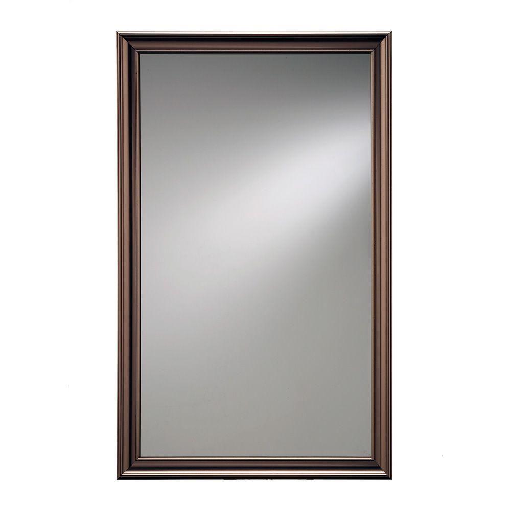 Jensen Ashton 15 75 In W X 25 5 In H X 5 In D Recessed Mirrored
