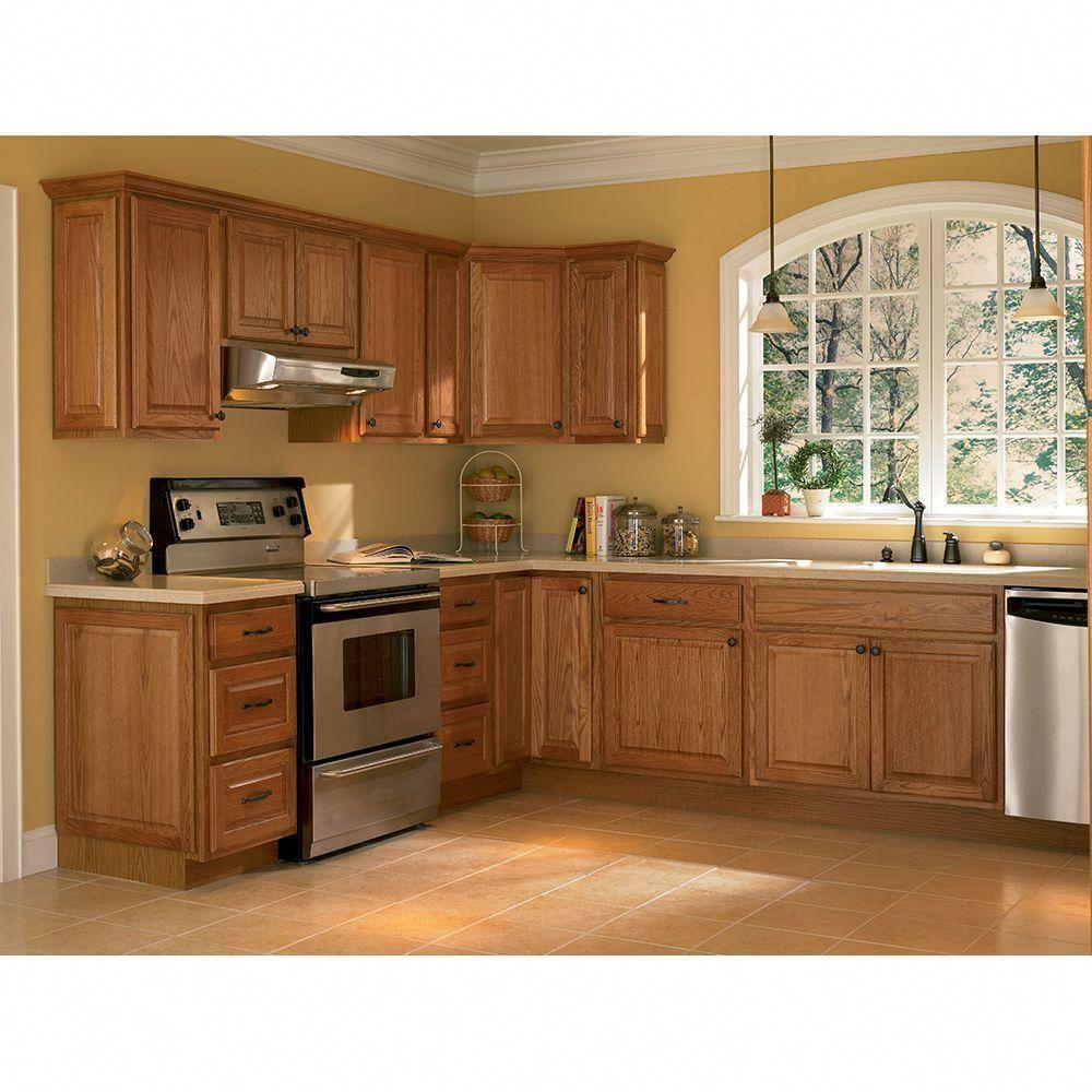 Hampton Bay Hampton Assembled 27x36x12 In. Wall Kitchen