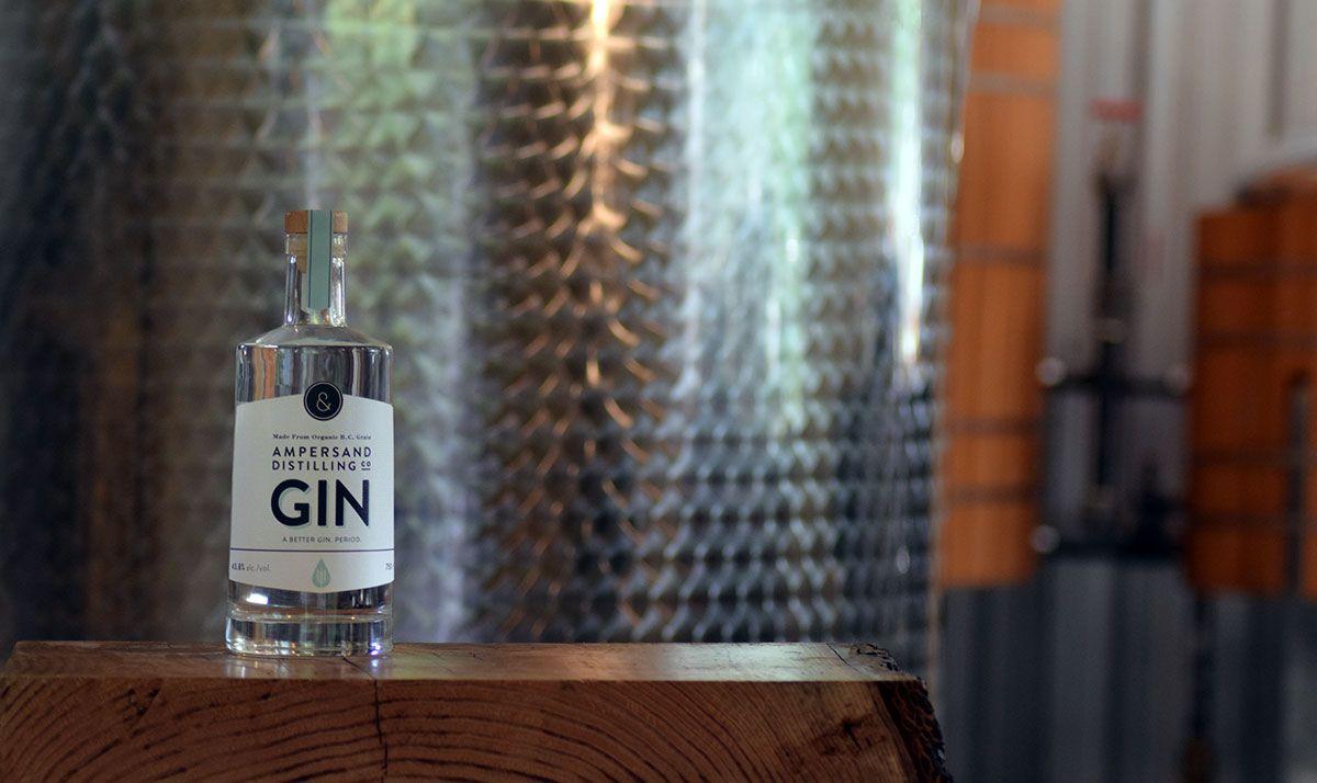 Gin bottletank with images craft spirits gin pot still