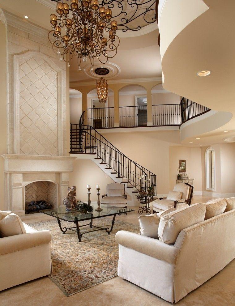 50+ Modern Mediterranean Interior Ideas for Living Room Modern