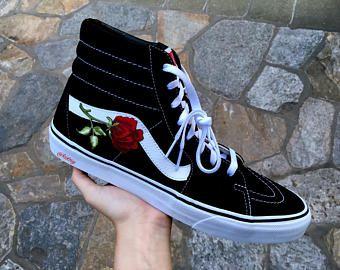 vans skate hi rose