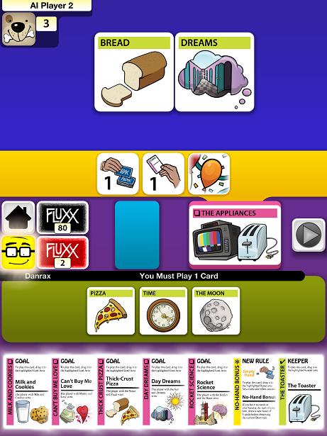 Fluxx Shines On iOS Card games, Weird, wonderful, Ios